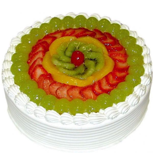 fresh fruit cake delivery india